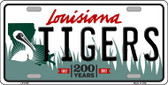 Tigers Louisiana Novelty Wholesale Metal License Plate