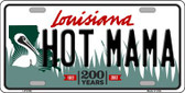 Hot Mama Louisiana Novelty Wholesale Metal License Plate