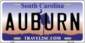 Auburn South Carolina Novelty Wholesale Metal License Plate LP-6307