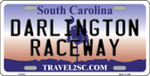 Darlington Raceway South Carolina Novelty Wholesale Metal License Plate LP-6311
