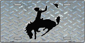 Bucking Bronco Novelty Wholesale Metal License Plate LP-1230