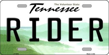 Tennessee State License Plates