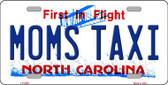 Moms Taxi North Carolina Novelty Wholesale Metal License Plate