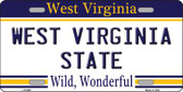 West Virginia State Novelty Wholesale Metal License Plate
