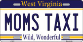 Moms Taxi West Virginia Novelty Wholesale Metal License Plate