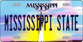 Mississippi State Novelty Wholesale Metal License Plate
