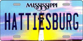 Hattiesburg Mississippi Novelty Wholesale Metal License Plate