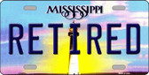 Retired Mississippi Novelty Wholesale Metal License Plate