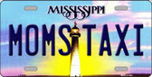 Moms Taxi Mississippi Novelty Wholesale Metal License Plate