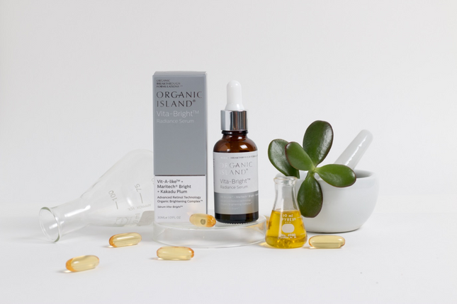 Organic Island Serum, formulating a new product