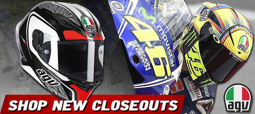 Shop ALL NEW AGV Helmet Closeouts