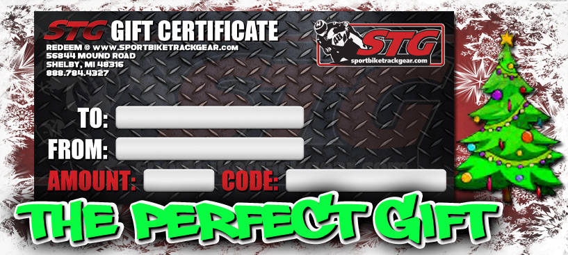 Grab an STG Gift Certificate for your Rider!