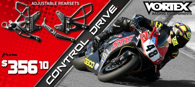 SAVE 15% on Vortex Racing Adjustable Rearsets