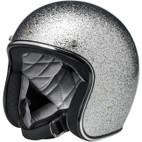 Biltwell Bonanza Helmet Brite Silver