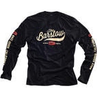 100% Barstow Long Sleeve Black T-Shirt 1