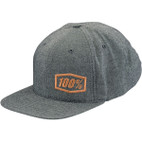 100% Callahan Heather Grey Snapback Hat 1
