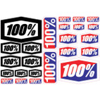 100% Decal 8x4 Sheet 1
