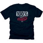 100% 'Merica Navy T-Shirt 1