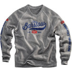 100% Ride Barstow Grey Sweatshirt 1