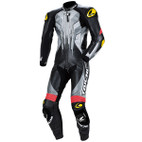 RS Taichi GP-Max R075 One-Piece Leather Suit NXL075 Black/Silver