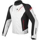 Dainese Stream Line D-Dry Jacket Glacier Gray/Black/Red