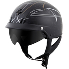 Scorpion EXO-C110 Pinstripe Helmet Gold/Silver
