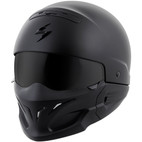 Scorpion Covert Helmet Matte Black