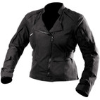 AGV Sport Women's Swift Fashion Twill Textile Jacket Black