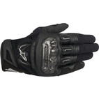 Alpinestars SMX-2 Air Carbon Leather Gloves Black