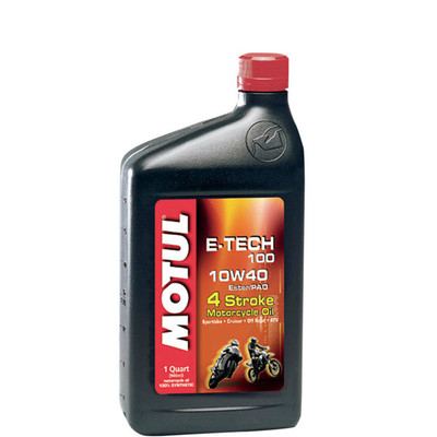 Motul E Tech 100 10w40 Synthetic Ester Motor Oil 1 Quart