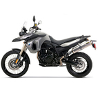 Two Brothers BMW F800GS 09-14 M-2 Standard Series Slip-On Exhaust