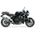 Two Brothers BMW K1200R/S/GT 05-08 M-2 Black Series Slip-On Exhaust