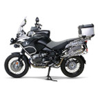 Two Brothers BMW R1200GS/GSA 08-09 M-2 Black Series Slip-On Exhaust