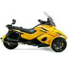 Two Brothers Can-Am Spyder RS/ST 2013 M-5 Black Series Slip-On Exhaust
