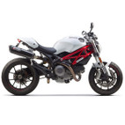 Two Brothers Ducati Monster 696 08-12 M-2 Dual Standard Series Slip-On Exhaust