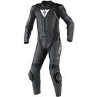 Dainese Avro D1 Two Piece Leather Suit Black/Anthracite