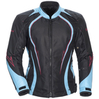 Cortech LRX Series 3 Women's Jacket Black/Light Blue