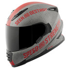 Speed and Strength SS1600 Cruise Missile Helmet Red