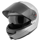 Speed and Strength SS1700 Solid Speed Modular Helmet Silver