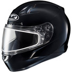 HJC CL-17 Snow Solid Helmet with Electric Shield Black
