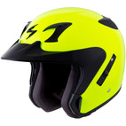 Scorpion EXO-CT220 Solid Helmet Neon