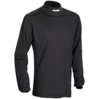 Journey Coolmax Mock Shirt Black