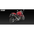Vance & Hines CS One Black Dual Slip On Exh Ducati Monster 696/1100/1100S 08-10