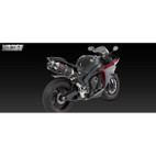 Vance & Hines CS One Black Dual Slip On Exh Yamaha YZF-R1 09-11