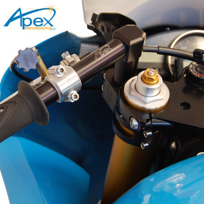 Apex Adjustable Riser Clip Ons