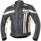 Held Harvey 76 Leather Jacket Black/Off-White