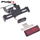 Puig Fender Eliminator Kit Kawasaki Ninja 300 13-16 Black