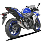 Akrapovic Yamaha YZF-R3 15-16 Racing Line Stainless Steel Full Exhaust System