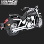 Vance & Hines Big Shot Full Exaust System Honda VTX1300S 03-09 1