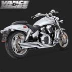 Vance & Hines Big Shot Full Exaust System Honda VTX1800C 02-08 1